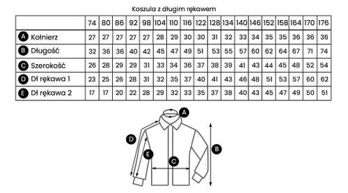 Biała koszula chłopięca, krótki rękaw 98 na Arena.pl