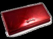 Portfel damski Pierre Cardin skórzany zamek listki zdjęcie 7
