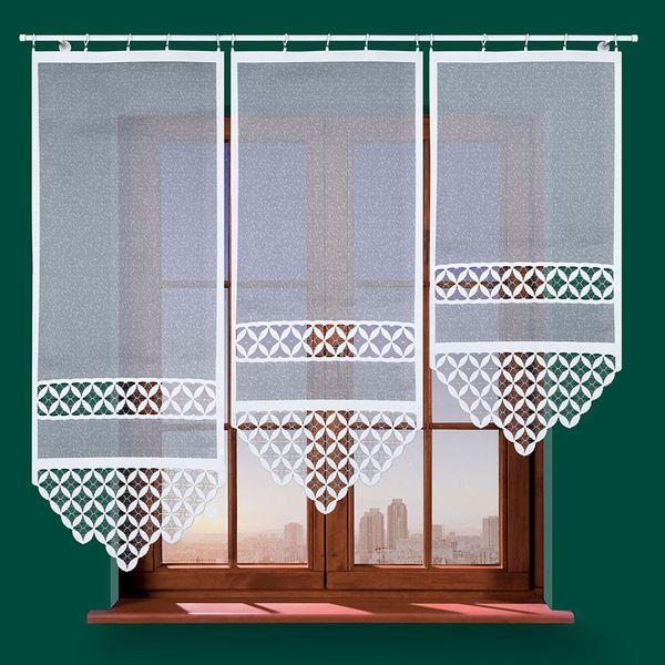 Panel żakardowy TREVO - 120x60cm - biały zdjęcie 2