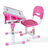 Biurko + Krzesełko dla dziecka zestaw Bambino Pink