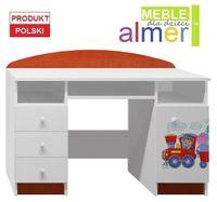 POCIĄG 5 - NB7 biurko dziecięce 120x50 w.74