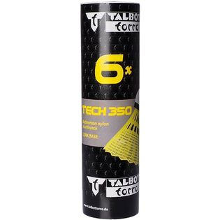 Lotki do badmintona Talbot Torro Tech 350 6 szt. żółte 479103