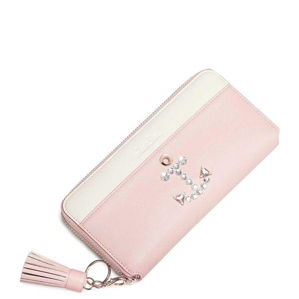 011d1d27efedf JUST STAR Pastelowy długi portfel różowy • Arena.pl