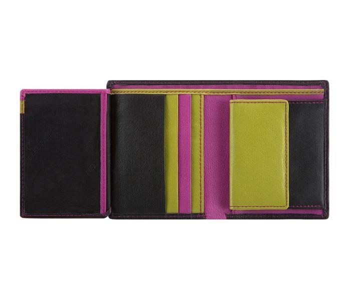 ad6a16a621e9d Czarny z kolorowym środkiem portfel damski VIP Collection: Multikolor  zdjęcie 5