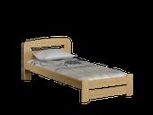 łóżko 90x200 LIDIA ze stelażem SOSNA
