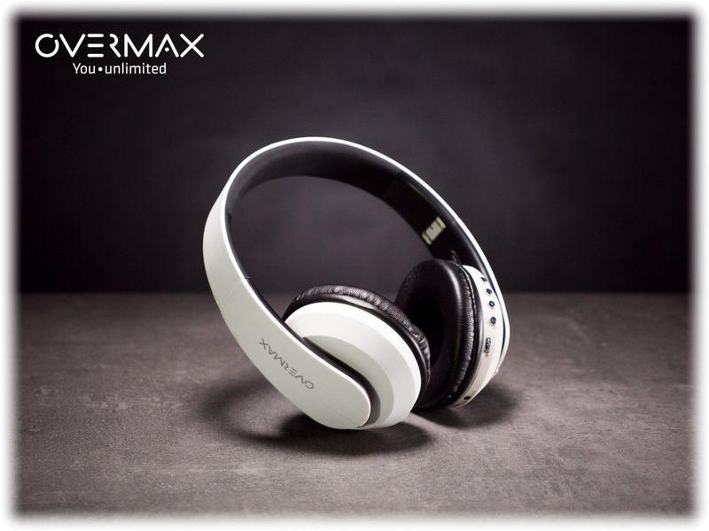 Słuchawki Bezprzewodowe Białe MP3 BT OVERMAX SOUNDBOOST 2.2 zdjęcie 6