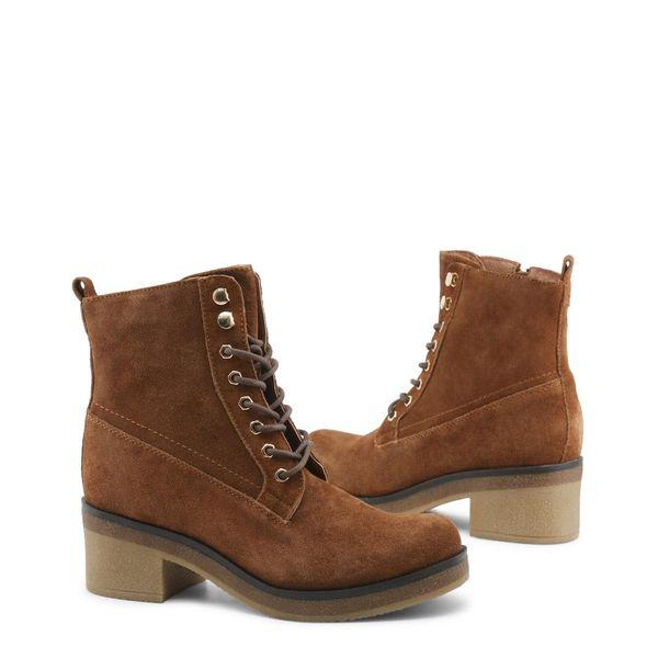 28e47cbcd3e03 Docksteps damskie buty za kostkę brązowy 37 • Arena.pl