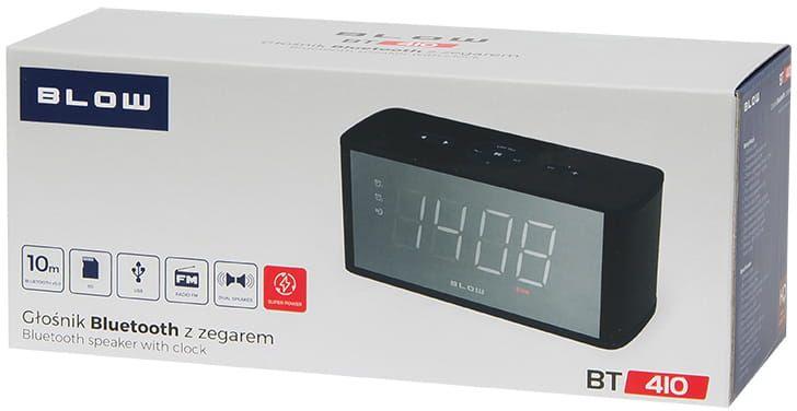 Głośnik Bluetooth Blow BT410 FM microSD ZEGAR zdjęcie 4