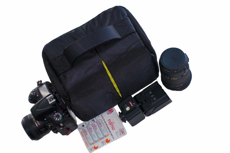 99d91652fc8d5 Futerał torba etui plecak aparat lustrzanka do nikon canon sony pentax  zdjęcie 3