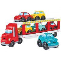 Ecoiffier Abrick Laweta 7 Pojazdów