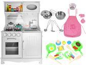 Drewniana Kuchnia Dla Dzieci Światła Dźwięki Granki Akcesoria Z371Z zdjęcie 1