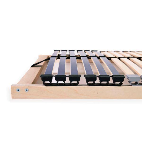 Stelaż Do łóżka Z 42 Listwami Drewno Fsc 7 Stref 100x200 Cm Gxp 680211