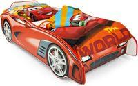 Łóżko dla dzieci 140x70 z materacem Super Sport Car + piłka nożna