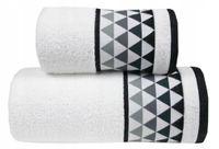 Ręcznik Men Way 50x90 Biały Greno Mikrobawełna