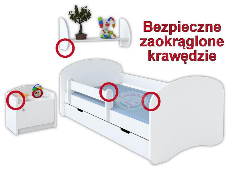 Barierka ochronna do łóżka dziecięcego - długość 120 cm na Arena.pl