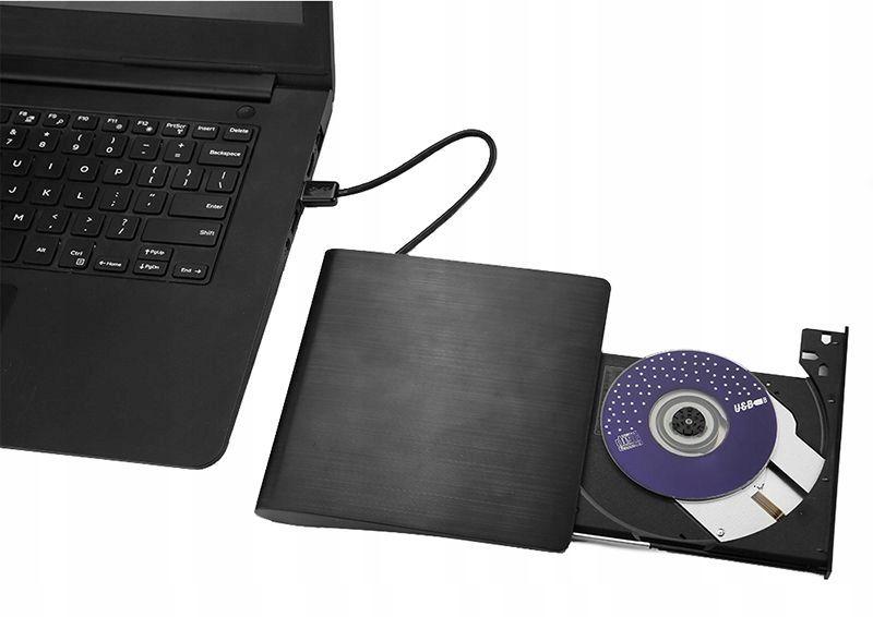 USB 3.0 NAGRYWARKA ZEWNĘTRZNA CD, CD-RW, NAPĘD DVD zdjęcie 5
