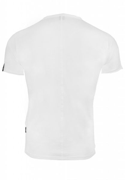REPLAY Men's V-Neck Printed Cotton Jersey T-Shirt White M34672660-001 - M zdjęcie 2