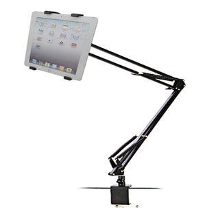 Profesjonalny uchwyt na tablet do blatu, biurka - Wysięgnik aluminiowy