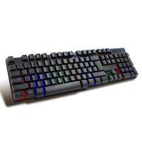 Przewodowa klawiatura do gier z podświetleniem RGB