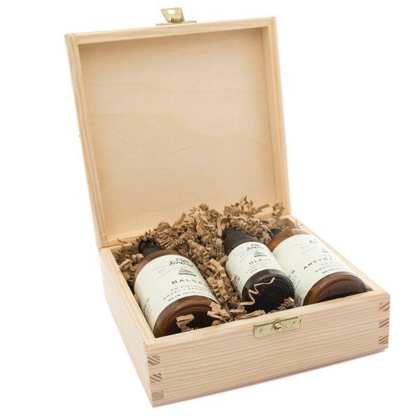 Pan Drwal - zestaw prezentowy do brody - Trzech Drwali olejek, balsam, tonik zdjęcie 2