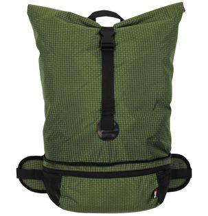 Plecak składany Rip Stop 35 l oliwkowy