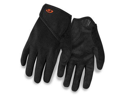 Rękawiczki juniorskie GIRO DND JR II długi palec black roz. M (obwód dłoni 152-162 mm / dł. dłoni 160-165 mm) (NEW)