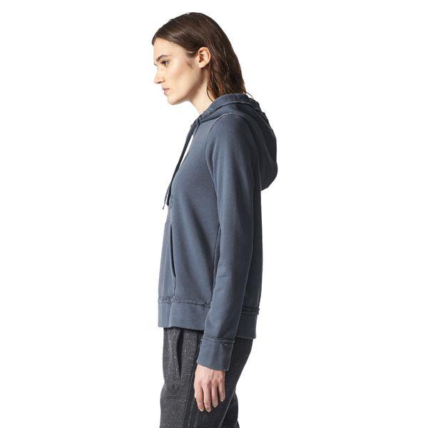 d9e5055465493 Bluza Adidas Originals Trefoil Hoodie damska dresowa z kapturem 42 zdjęcie 3