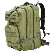 Plecak w stylu wojskowym, 50 L, oliwkowy zielony