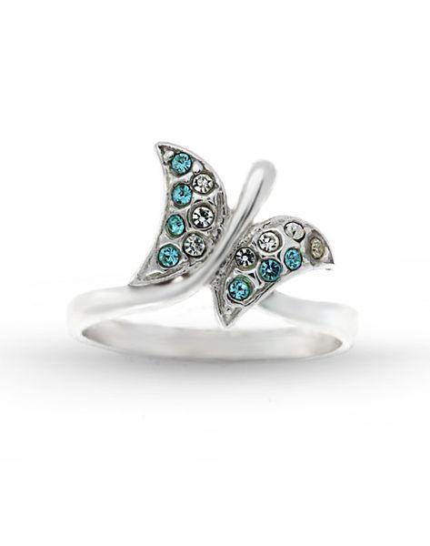pierścionek rozmiar: 15 ,srebro 925 i kryształki zdjęcie 2