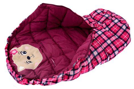 ŚPIWOREK DO WÓZKA SANEK Śpiwór Ocieplany 4w1 bear burgundy