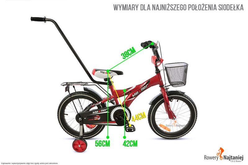 ROWER DZIECIĘCY 16 BMX MEXLLER NIEBIESKI MIKOŁAJKOWA PROMOCJA! zdjęcie 5