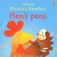 Usborne Phonics Readers - Hen's pens