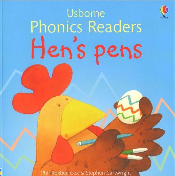 Usborne Phonics Readers - Hen's pens na Arena.pl