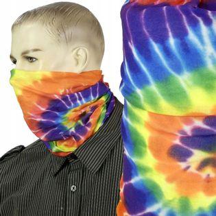 Maska bandana chusta na twarz nos usta Rainbow