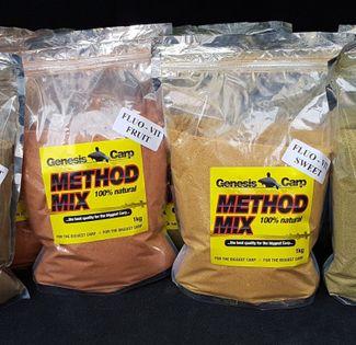 Genesis Carp Fluo-Vit MethodMix Sweet 0,9kg
