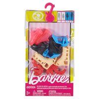 Barbie zestaw butów 5 par FCR93