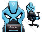 Fotel obrotowy gamingowy kubełkowy gracza DIABLO X-FIGHTER ORYGINALNY