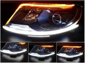 ŚWIATŁA DRL FLEX LED dzienne + kierunkowskaz, zewnętrzne