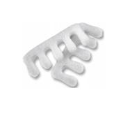 Separatory do pedicure białe piankowe 20 sztuk