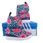 Śniegowce Adidas Slip S76120 Buty Zimowe Boho Dziewczynka 30-34 kozaki zdjęcie 5