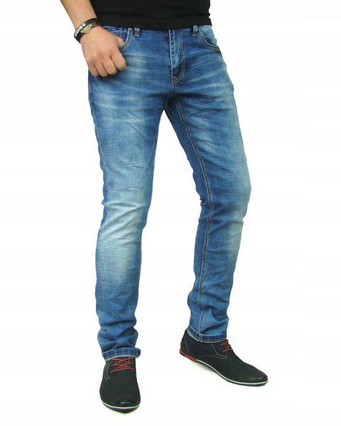 ff964d81 Spodnie jeansy slim fit pas 104cm RDS 40/34-8180