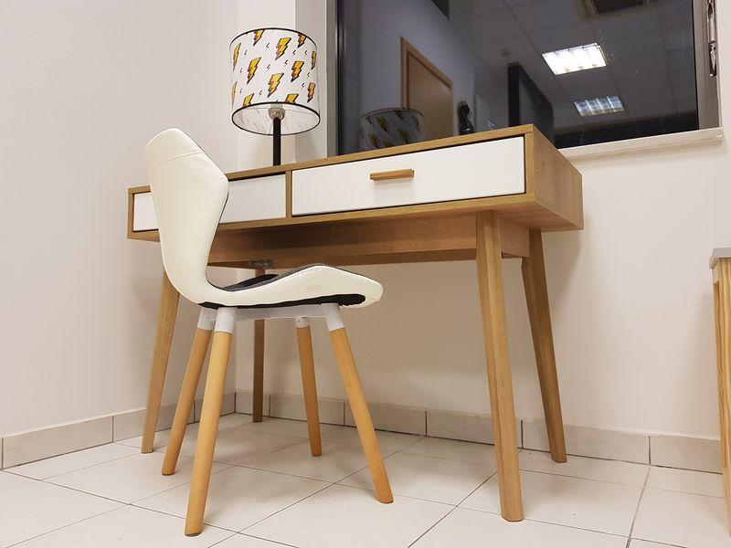 Skandynawskie biurko z szufladami Nordic zdjęcie 5