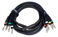 Kabel wieloparowy multicore Jack 6,3 mm stereo 3 m