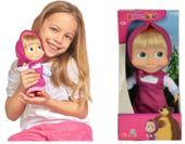 Simba Masza i niedźwiedź miękka lalka Masza