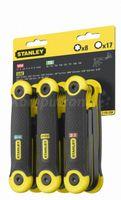 Stanley Zestaw Kluczy Imbus +Torx Składanych (1,5-6,4Mm; T9-T40)