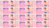 12 x Chusteczki oczyszczające Johnson's Baby Gentle Cleansing