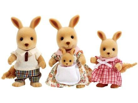 Sylvanian Families Rodzina kangurków zdjęcie 1