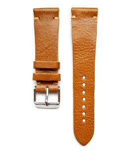 Pasek do zegarka 20mm skóra jasno brązowy- miodowy - polskie - Lamato