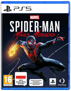 MARVELS SPIDER-MAN MILES MORALES PLAYSTATION 5 PS5