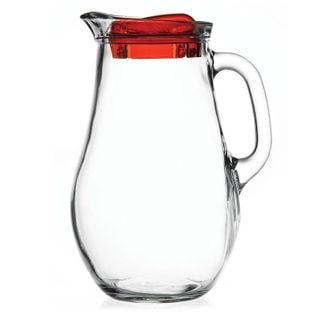 Dzbanek szklany do napojów BISTRO 2,1L z pokrywką